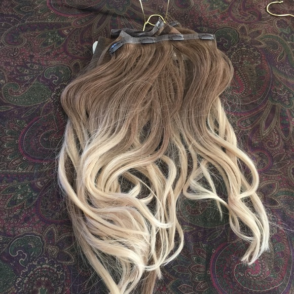 Accessories Foxy Locks Honey Spice Ombr 18 Hair Extensions Poshmark